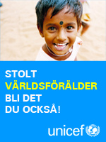 Jag r stolt Vrldfrlder hos UNICEF, bli det du ocks.